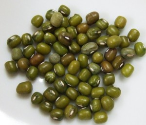 緑豆 少々
