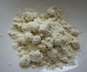 緑豆洗容素の中身はこんな感じの粉