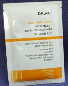 DR.WU 微導美白面膜